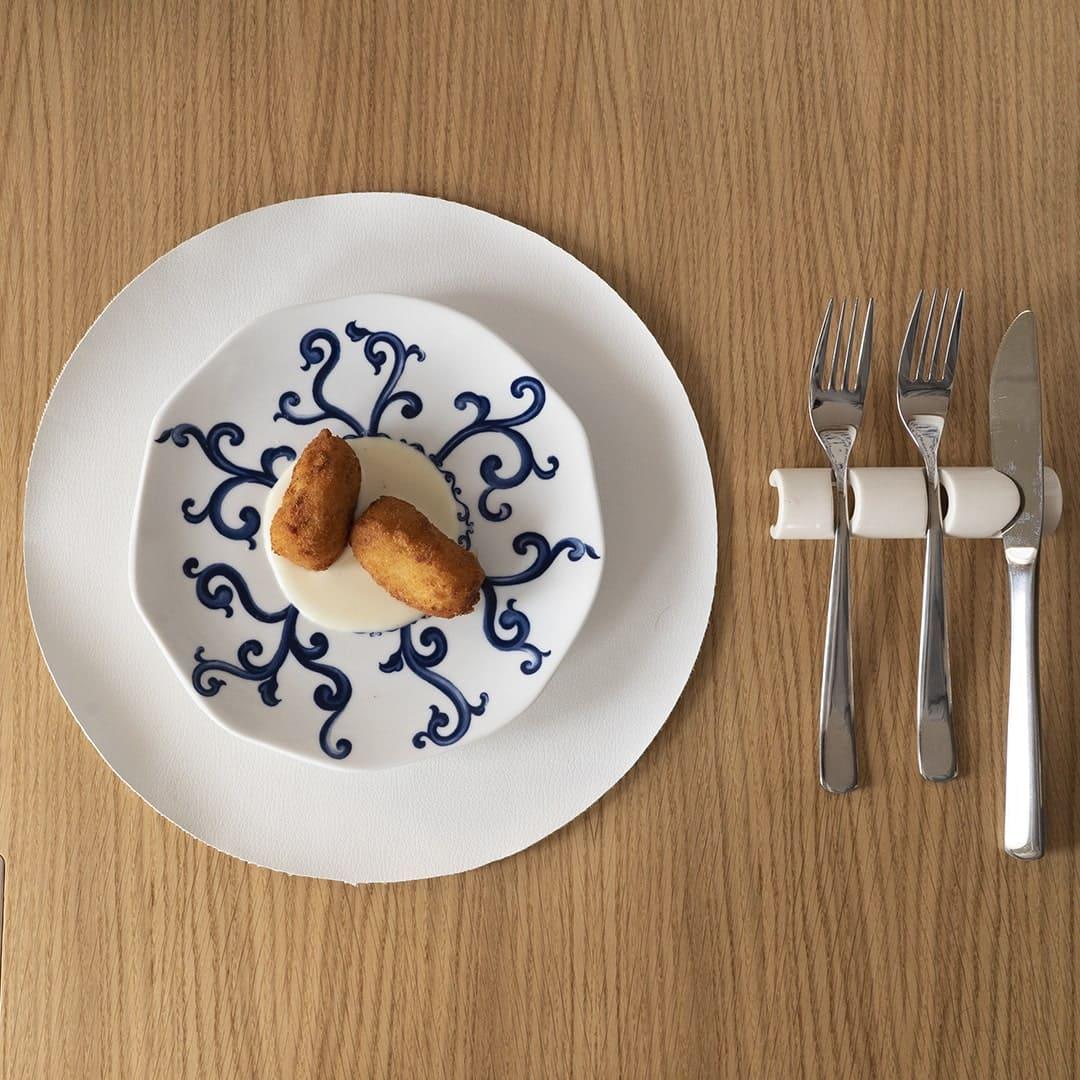 Crocchè di patate su fonduta di provolone